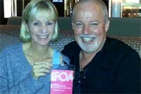 With Kate Mosse at the Toronto IFOA